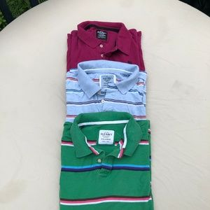 Lot of 3 Old Navy Men's Polo Shirts - XX-Large